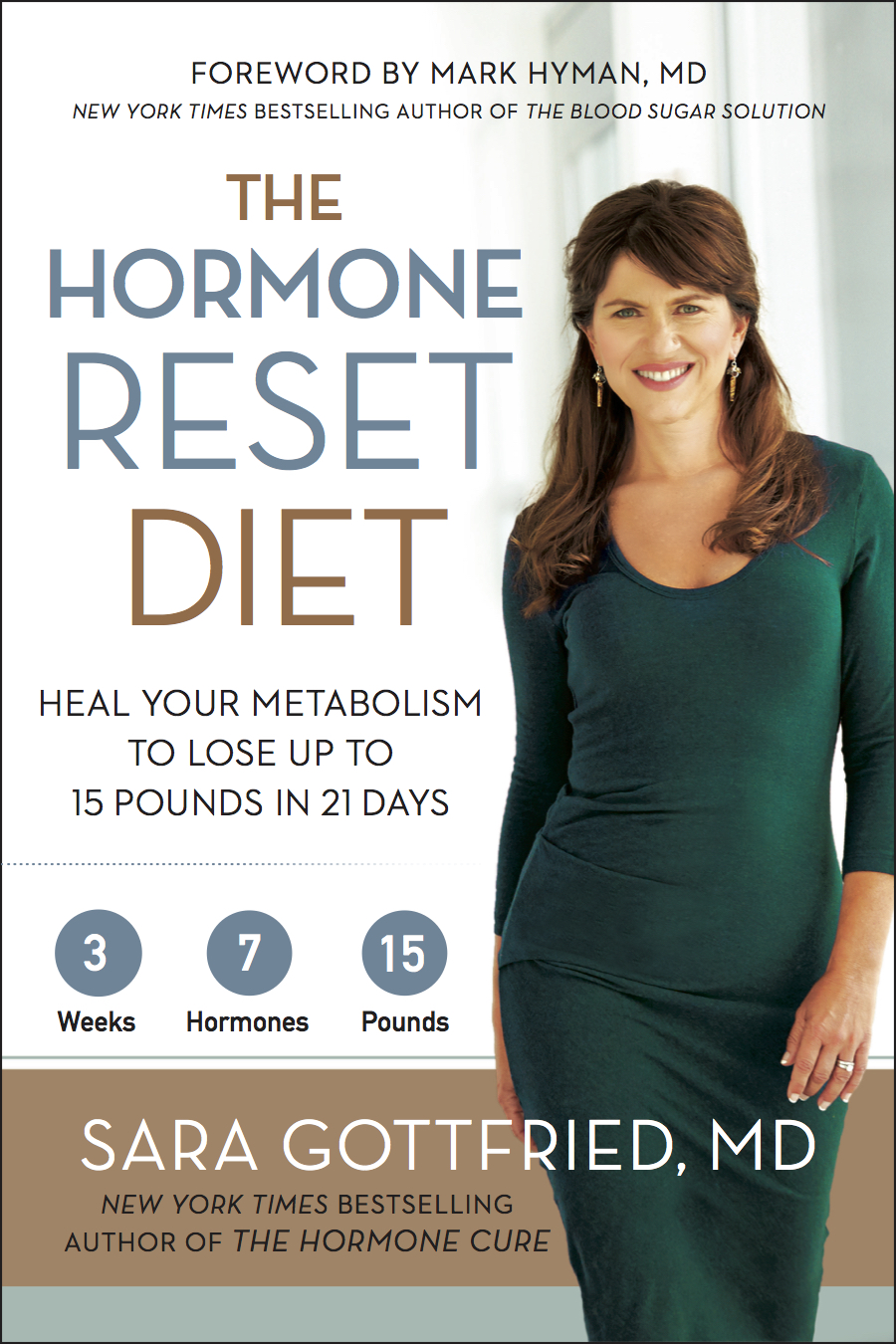 The Hormone Reset Diet Book Cover