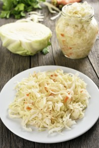 Marinated cabbage (sauerkraut)