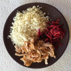 MBG - Cauliflower Rice, Chicken & Kim Chi
